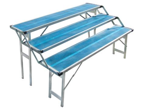 Tavoli Pieghevoli Alluminio Per Mercatini.Banchi Linea Ambulanti Efesto Production
